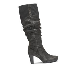Aerosoles Sweet Ment Black Knee High Black Boots